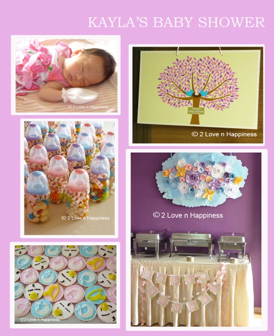 Baby Shower Venues In Singapore: Wedding Customised Banner And Photo Props