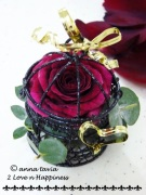 Rose Wedding Favor