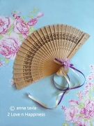 Wedding Favor Fan